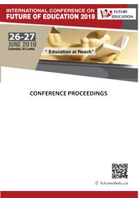 Future of Education - 2018 - Conference Proceedings