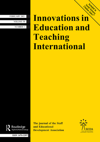 Innovations in Education and Teaching International